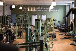FitnessBoxx Blacklabel - Innenraum